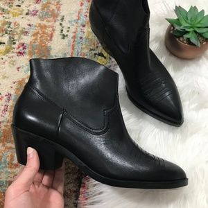 Treasure & Bond • NEW Leather Western Ankle Boots